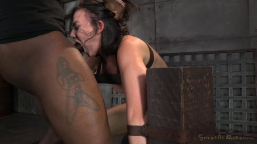 bdsm Cute Little Amy Faye Belted Down