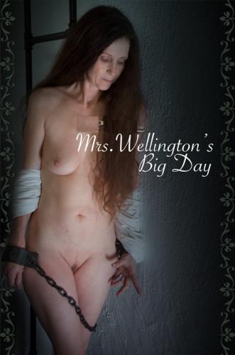 bdsm Mrs. Wellingtons Big Day - Rain DeGrey
