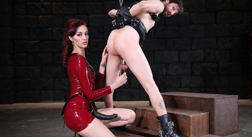 Femdom and Strapon Terrifying Abuse