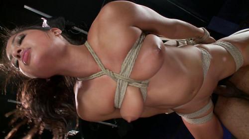 bdsm FB - 12-06-2013 - Penthouse Pet, Adrianna Luna gets Fucked and Bound
