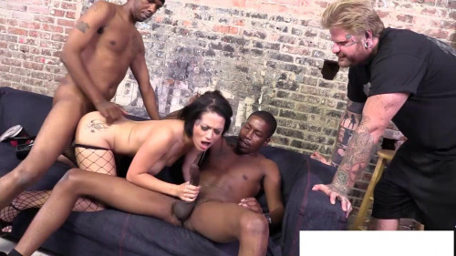 Femdom and Strapon Orgy Fingering one black fuck