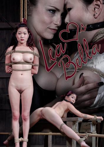bdsm Lea Hart, Bella Rossi in Rope bondage