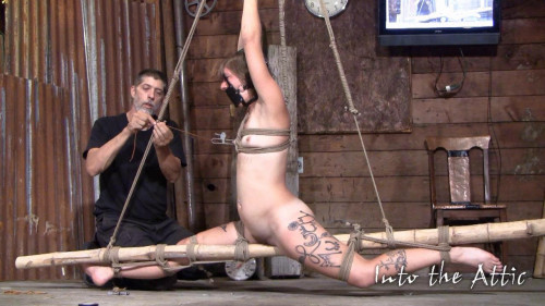 She loves to be tied with her legs spread open (2011) BDSM