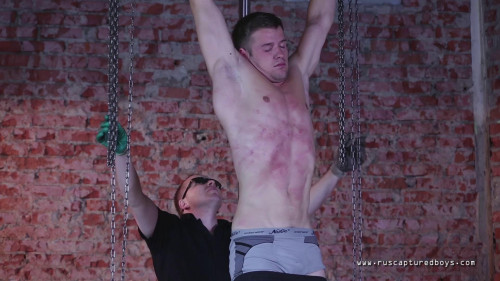 Gay BDSM RusCapturedBoys – Captured worker - Part I