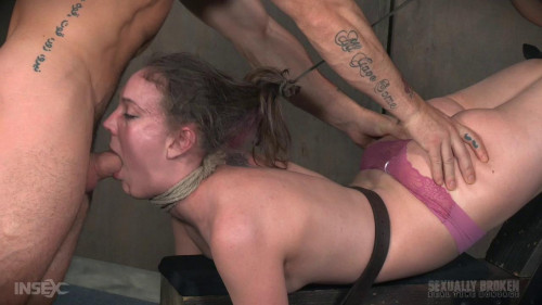 bdsm Sierra Cirque - Face Fucked In Extreme Bondage