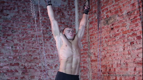 Gay BDSM Judoist Vitaly in Slavery - Final Part