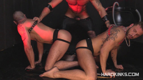 Gay BDSM The Creation (Antonio Miracle, Mario Domenech, Rogan Richards)