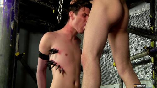 Gay BDSM Punishing The Sexy New Boy