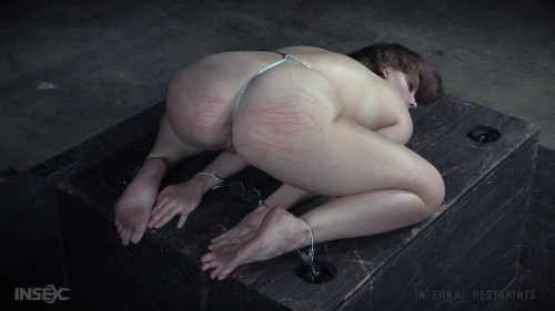 bdsm she is balancing on her toes