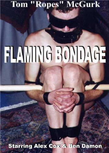 Gay BDSM Flaming Bondage