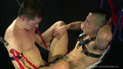 Gay BDSM Yoshi Kawasaki Tied and Bound By Daniel James