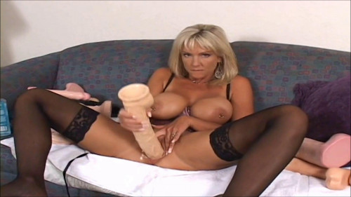 Fisting and Dildo Naughty Alysha