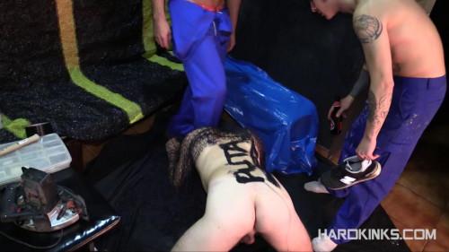 Gay BDSM man and boy Masters (Adrian Yuyu, Dany Romeo)