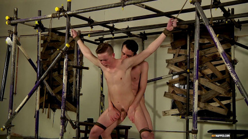 Gay BDSM The Boy Is Just A Hole To Use