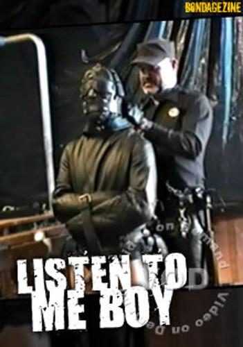 Listen To Me Boy! (none available, Bondagezine) Gay BDSM
