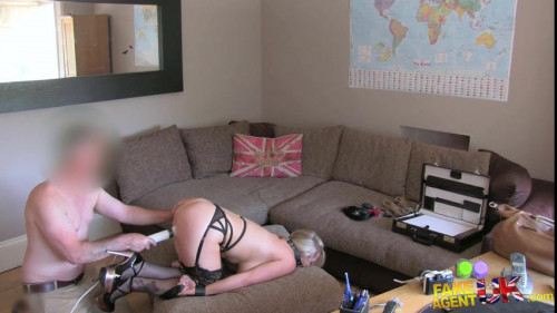 bdsm Rebecca - Double penetration for big titted blonde