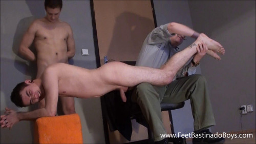 Gay BDSM Best Collection - FeetBastinadoBoys Only exclusive 6 clips. Part 10