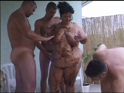 Outdoor Scat Gangbang With Chubby Mature Filesmonster Scat