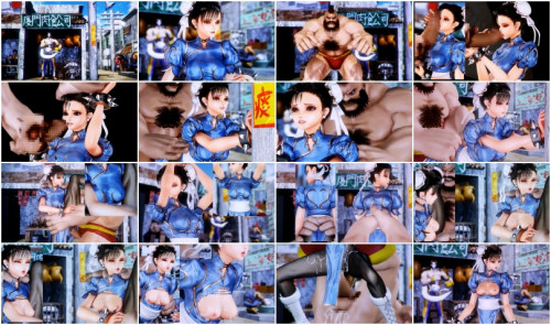 Fighting Girl Li Defeated and automatically assaulted One (2012) 3D Porno