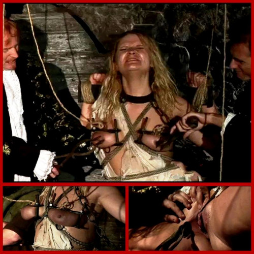 bdsm Wench Magda Endures Extreme Torture Breast and Pussy - BrutalDungeon