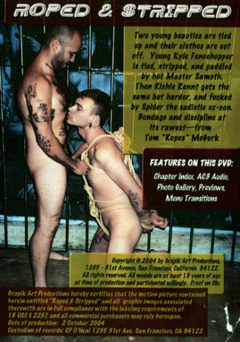 Grapik Art Productions - Roped and Stripped Gay BDSM