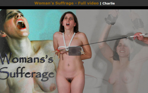 bdsm Paintoy - Oct 28, 2016 - Womans Suffrage - Charlie