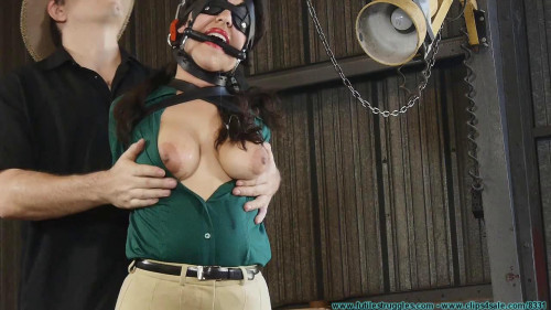 bdsm Ellen Equestrian to PonyGirl - Leather 2part - BDSM, Humiliation, Torture HD 720p