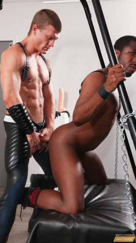Gay BDSM JP Richards Fucking Caleb King