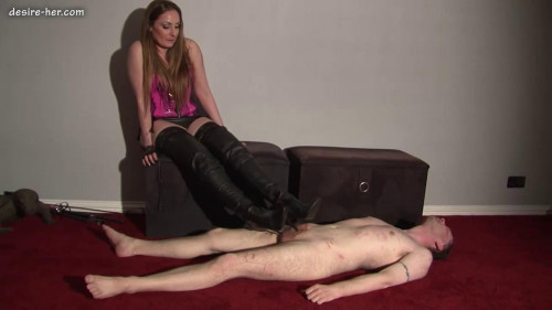Femdom and Strapon Lady Sophia Cbt Trample 2