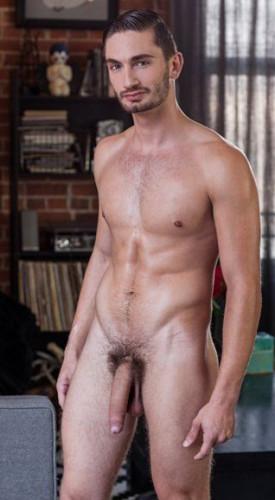 Gay Twink Preston Cole Jerks Off His Massive Cock