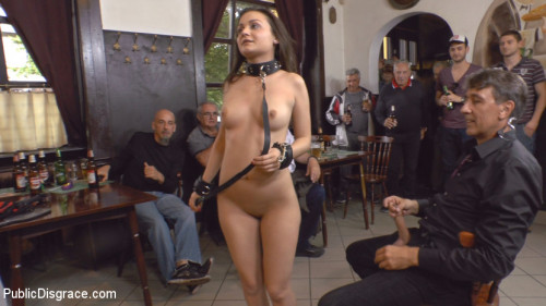 bdsm Teen Exposed and Fucked in Public