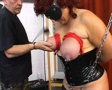 Vollgestopfte Megavotze BDSM