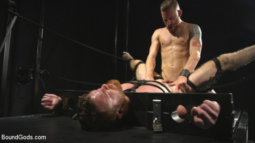 Gay BDSM Mister Keys Meets his Match with new Switch, Scott Ambrose