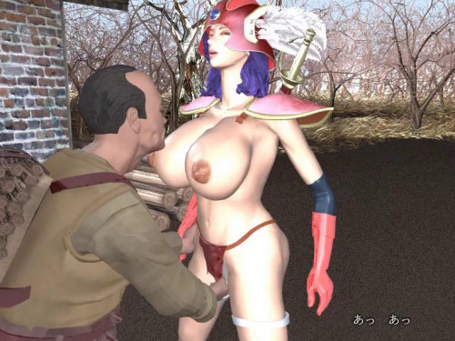 Onna senshi Female Warrior Releases in 2013 3D Porno