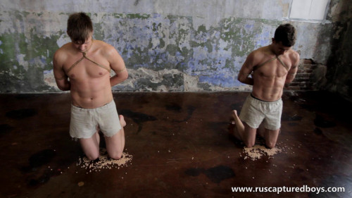 Gay BDSM RusCapturedBoys – Slaves Competition - Part II