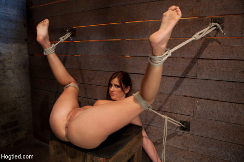 Cute 20yr old girl next door, bound with legs up & spread, foot torture, caning, finger banged hard! BDSM