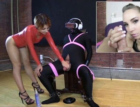 Femdom and Strapon Slave Ruined Multiple Times