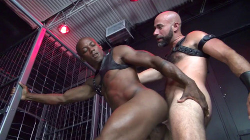 Gay BDSM Damon Andros Fucks Osiris Blade