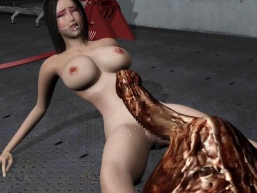 Bizarre Erotic Gorillaman strikes back Enter the red cat 3D Porno