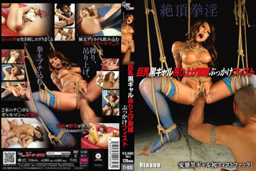 Fisting and Dildo TT-025 - Bound and Suspended Bukkake and Fisting. Hinano