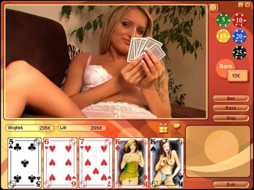 [Sex Game] Strip Poker Exclusive 3 Porn games