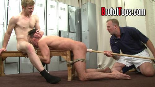Gay BDSM BrutalTops Session 334 - Master Derek and Master Edward