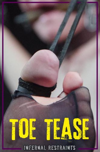 bdsm Toe Tease