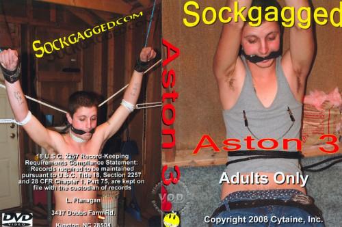 Sockgagged - Aston 3 Gay BDSM