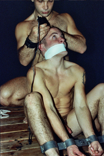 Gay BDSM Shaved Down