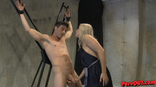 Femdom and Strapon Edged Sex Slave Training
