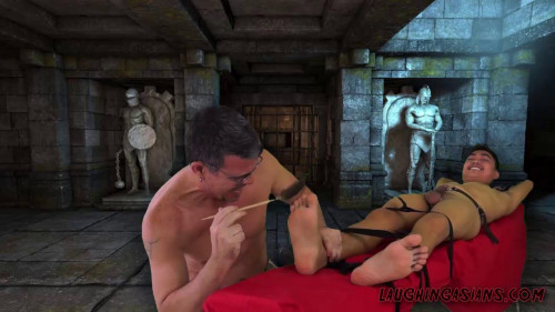 Gay BDSM Daddys Dungeon - Nathan