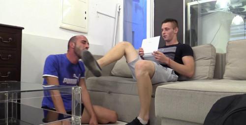 Gay BDSM Kalel Is Str8 Master Flatmate