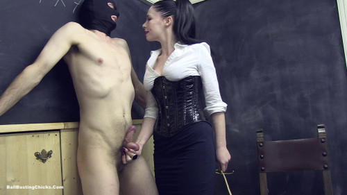 Old School Discipline (Part 1) Femdom and Strapon