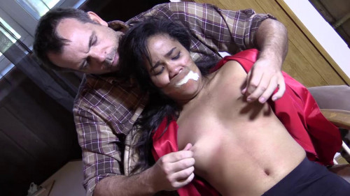 bdsm Loni Kidnapped Gagged Ch. Groped Backwoods Bondage Slave